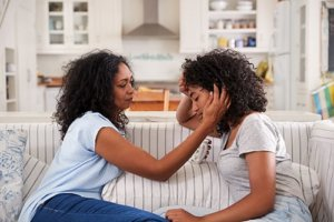 young woman asks herself how to begin explaining depression to my mother